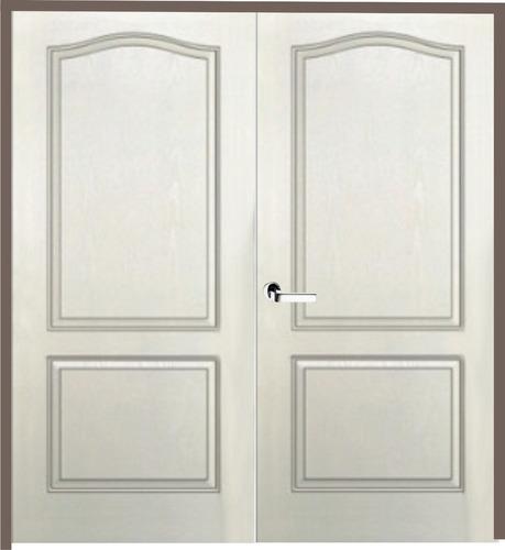 puerta doble craftmaster  marco madera 140 x 200