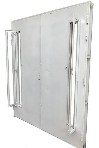 puerta doble hoja chapa inyectada barral 160x200 plan cuotas