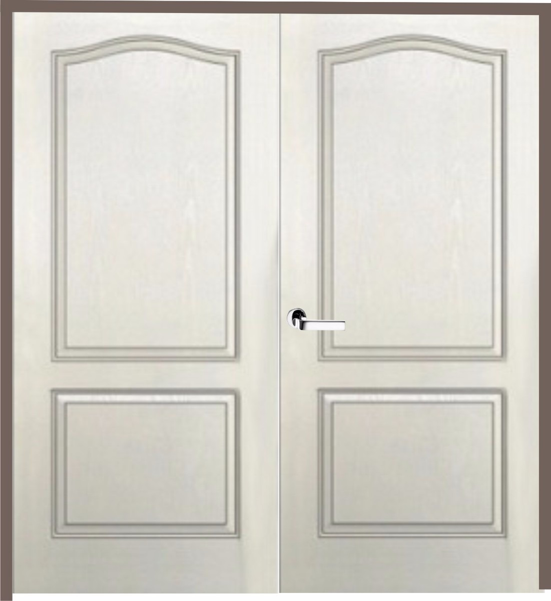 Puerta Doble Hoja Craftmaster Blanca Marco Madera 160x200 Cm ...