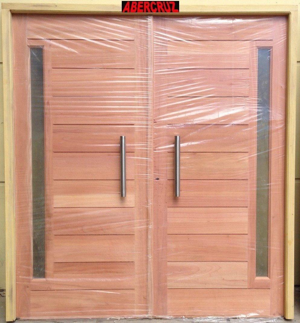 Puerta Doble Madera Cedro Exterior Barral Y Postigo Fijo - $ 18.950 ...