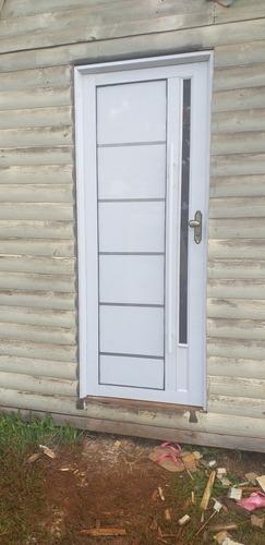 puerta en aluminio