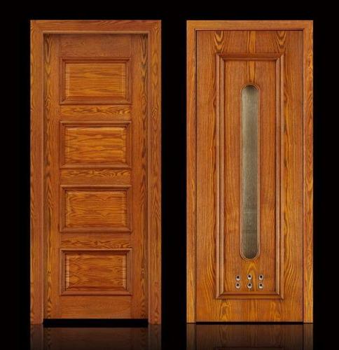 puerta en caoba