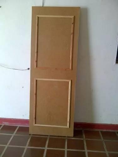 puerta entanborada de pino caribe sin pintar