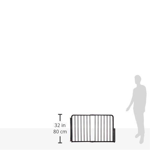 puerta especial de la escalera cardinal gates, negra