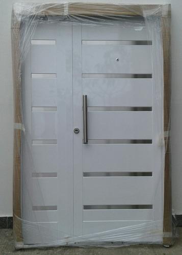 puerta exterior al horno residencia blanca c/barral 120x200