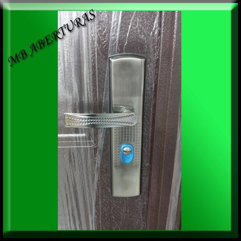 Puerta exterior doble chapa puertas interiores y for Puertas dobles exterior