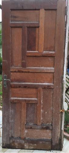 puerta exterior madera,