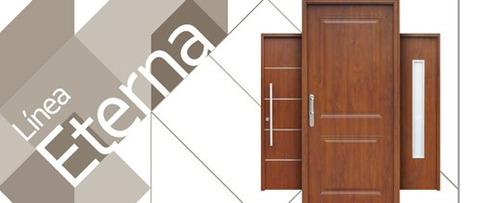 puerta foliada madera oblak 1107/08 linea eterna 102x207 cm
