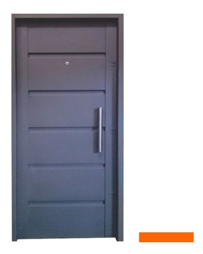 puerta frente de chapa 18 exterior inyectada. moderna