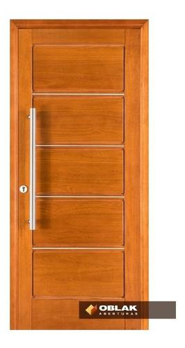 puerta frente exterior madera tekna oblak 80 x 200 der