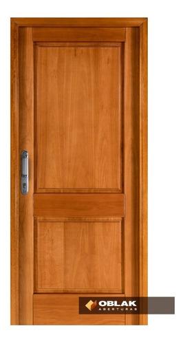 puerta frente exterior madera tekna oblak 90x200 izq