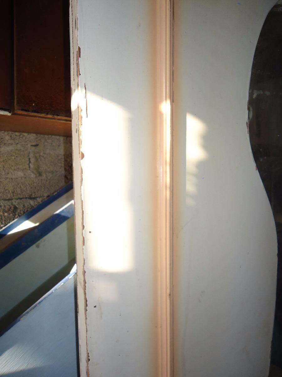 Puerta giratoria para cocina madera de pino usada 600 for Puerta de madera exterior usada
