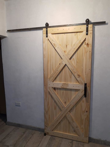 puerta granero corrediza estilo industrial