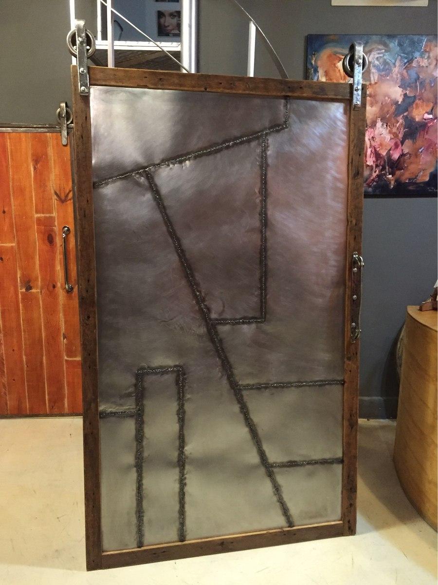 Puerta Granero Estilo Industrial! - $ 18.900,00 en Mercado Libre
