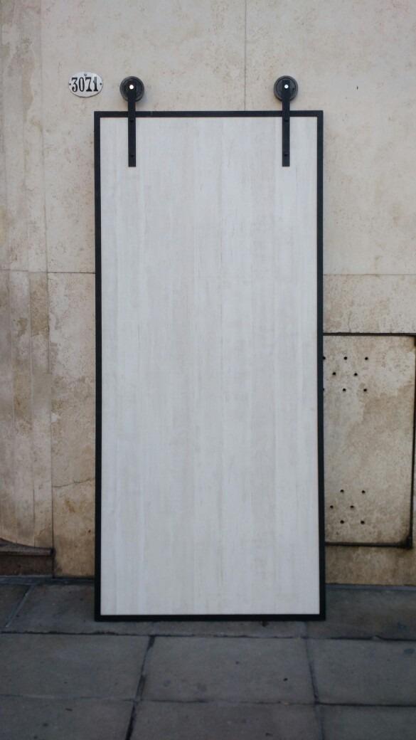 Puerta Granero Hierro Y Madera - $ 4.500,00 en Mercado Libre