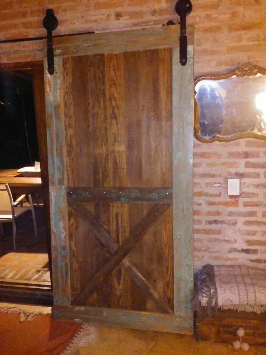 Puerta Granero,establo Rustica - $ 6.500,00 en Mercado Libre