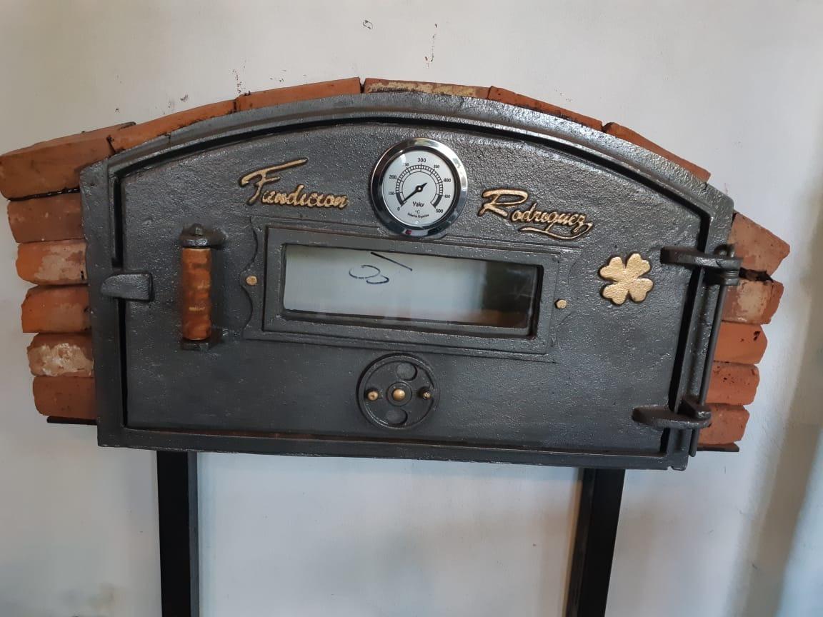 16624b98bd98 puerta horno barro resistente a 1200° - fundición rodriguez. Cargando zoom.