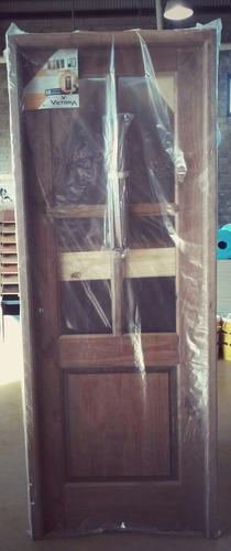 puerta int. madera