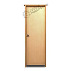 Puerta Interior Marco 10cm En Madera Dura 75x205 Der