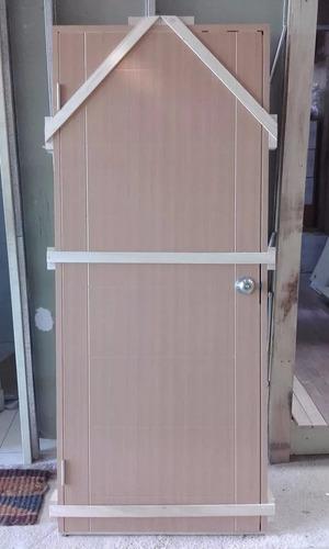 puerta interior pvc.