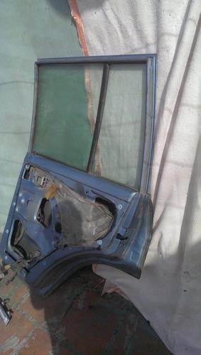 puerta lado del copiloto completa azul camioneta samurai