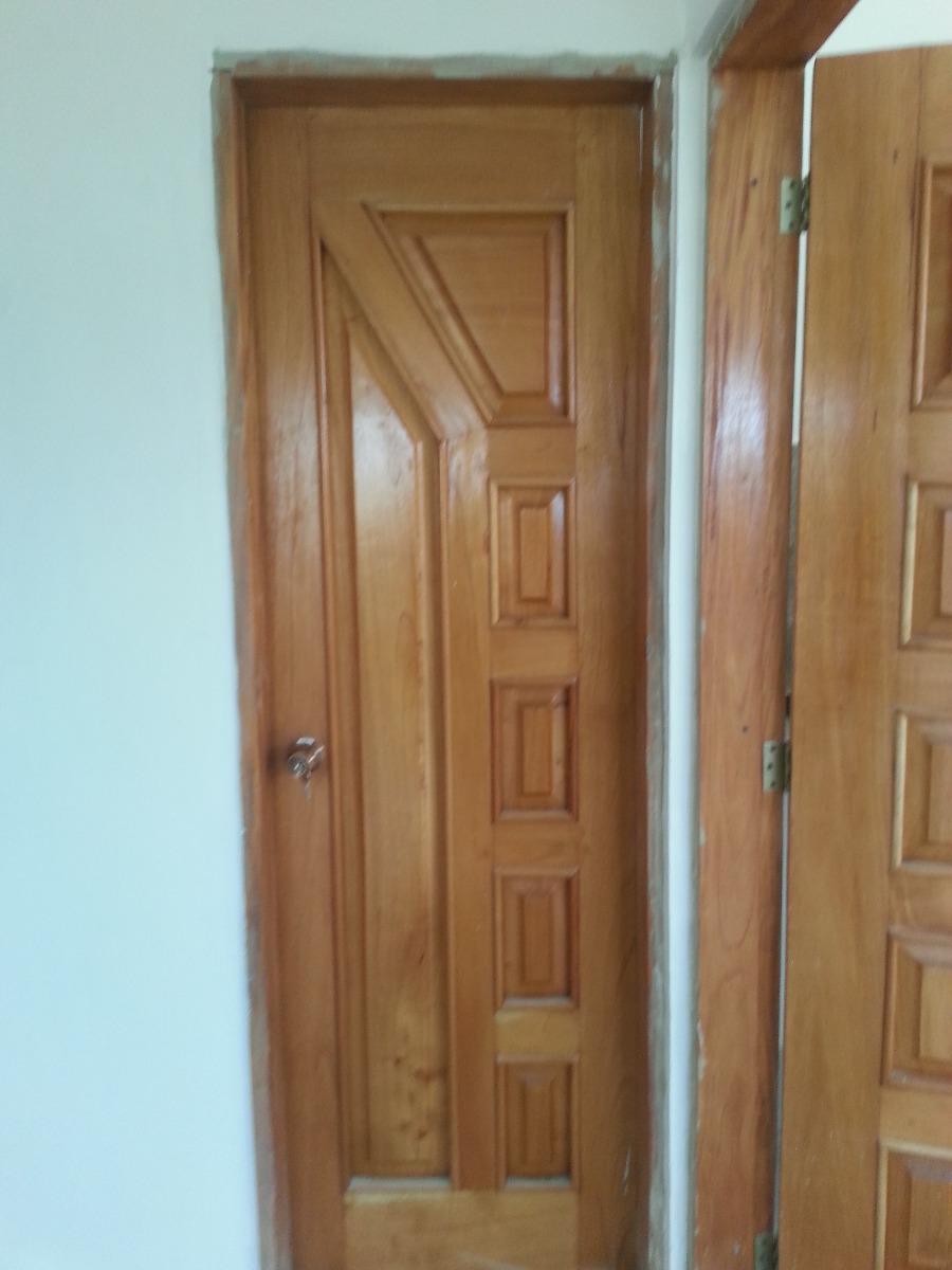 Puerta maciza de madera cedro para entradas o frente for Puertas de madera en oferta
