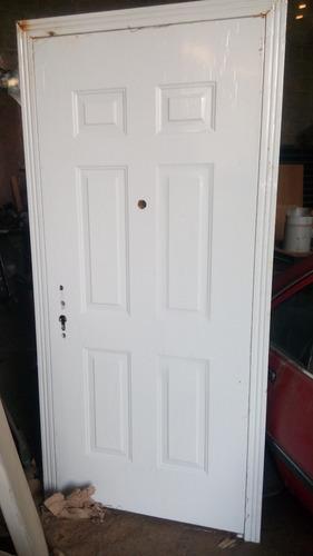 puerta maciza de seguridad multilock