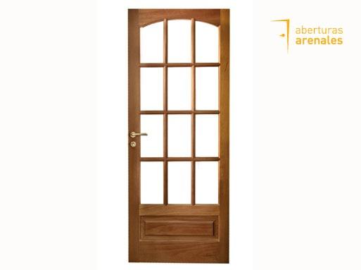 Puertas De Madera Con Vidrio Puerta De Entrada Abatible