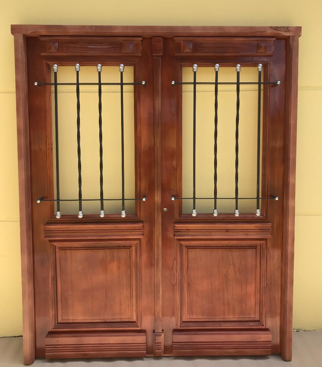 Para ofrecerte puertas en madera lesbos for Puertas antiguas dobles