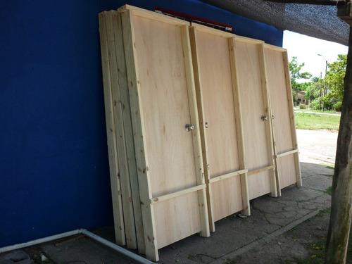 puerta madera importada de excelente calidad