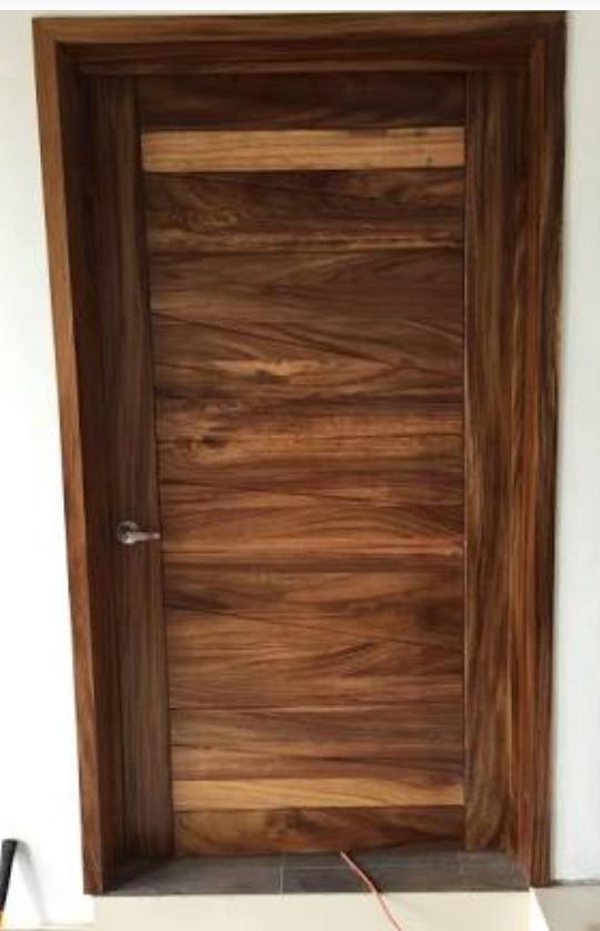 Puerta madera solida parota 37 en mercado libre for Descripcion de puertas de madera