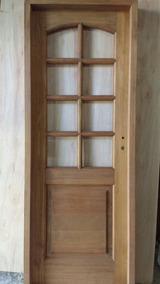 Puertas De Madera Con Vidrio Para Interior Aberturas Puertas Es
