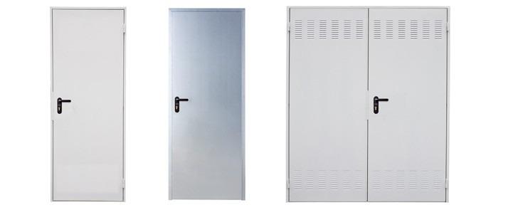 Puerta met lica multiusos roper con cerradura for Puertas de paso metalicas