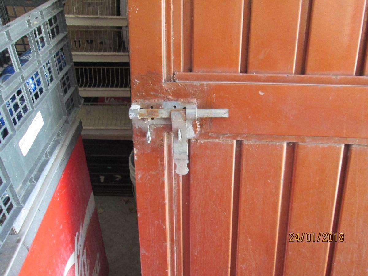 Puerta met lica cerrada nicamente para pasillo exterior 2 en mercado libre - Puerta exterior metalica ...