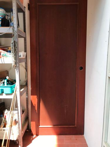 puerta moderna enchapada de dormitorio con batiente $130