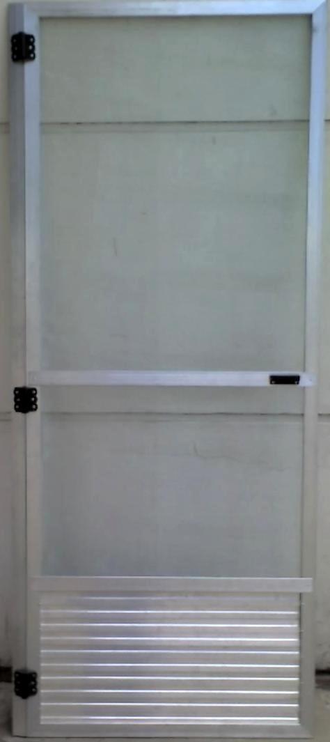 Como hacer puerta mosquitero de aluminio mosquitera de - Precio puerta corredera aluminio ...