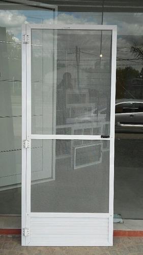 puerta mosquitero blanca - aberturas del norte