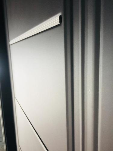 puerta nexo chapa inyectada con apliques y barral curvo