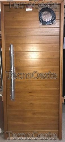 puerta oblak 2331 marco madera barral cerradura + cuotas!!
