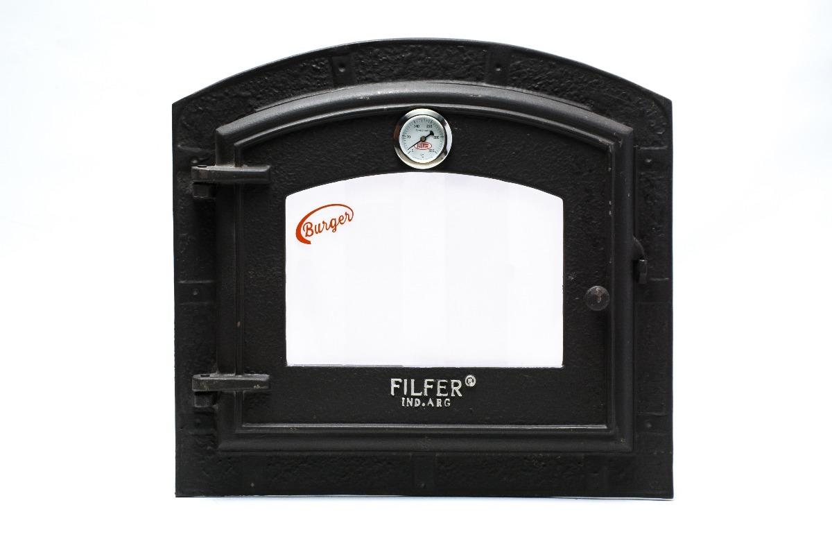 aa9814e2d866 puerta para horno de fundición con vidrio templado grande. Cargando zoom.