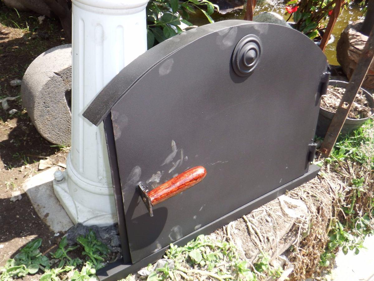 Puerta para horno de lena 1 en mercado libre - Calentar horno de lena ...