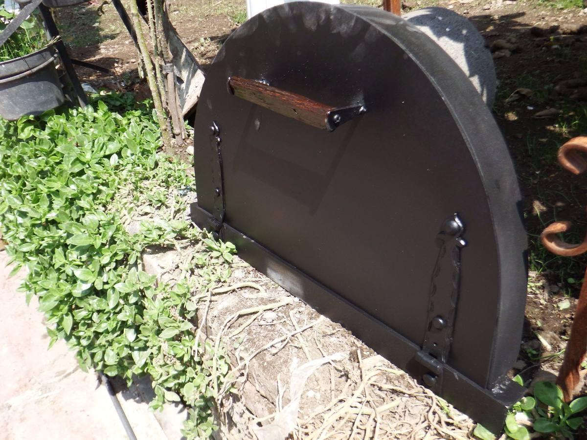 puerta para horno de lena 1 en mercado libre