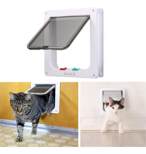 puerta para mascotas perro gato tamaño chico
