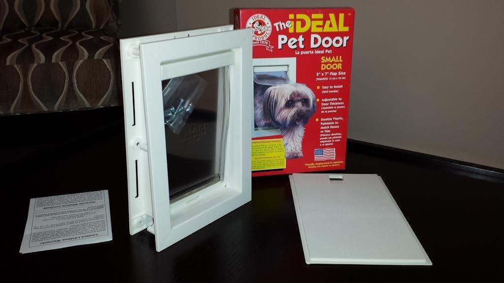 Puerta para perro mediana ideal pet en mercado libre - Puerta vaiven para perros ...