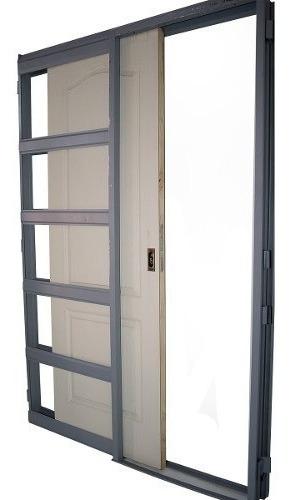 puerta placa corrediza chapa 18 craftmaster durlock 70x200