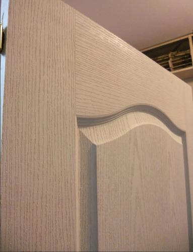 puerta placa craftmaster blanca cerradura 80x200 tecnooeste