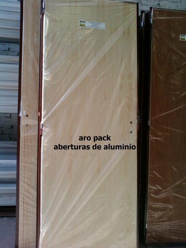 puerta placa de pino 60 o 70x200 doble contacto