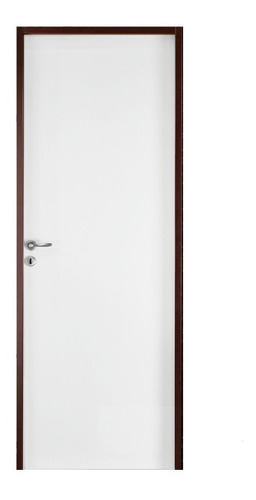 puerta placa oblak 70-10 blanca mch p/ durlock lista p/ usar