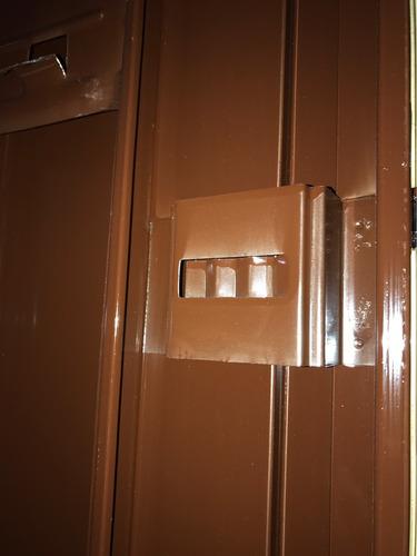 puerta placa oblak mdf 80 cm para durlock o knauf