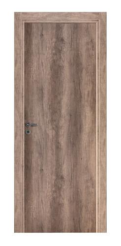 puerta placa oblak tekstura 70-10 izq. nogal con contramarco